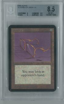 Magic the Gathering Alpha Glasses of Urza Single BGS 8.5 (8, 9.5, 9, 9.5)
