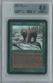 Magic the Gathering Alpha Grizzly Bears Single BGS 8.5 (8, 9.5, 9.5, 9.5)