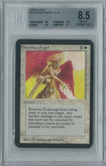 Magic the Gathering Alpha Guardian Angel Single BGS 8.5 (8.5, 8.5, 9.5, 9)