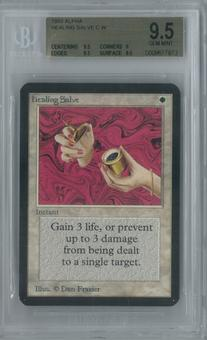 Magic the Gathering Alpha Healing Salve Single BGS 9.5 (9.5, 9, 9.5, 9.5)