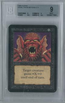 Magic the Gathering Alpha Howl from Beyond Single BGS 9 (9, 9, 9.5, 9.5)