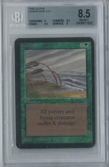 Magic the Gathering Alpha Hurricane Single BGS 8.5 (8, 8.5, 9.5, 9)