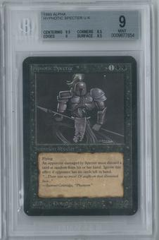 Magic the Gathering Alpha Hypnotic Specter Single BGS 9 (9.5, 8.5, 9, 9.5)