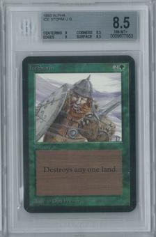 Magic the Gathering Alpha Ice Storm Single BGS 8.5 (9, 8.5, 9, 8.5)