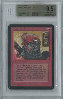 Magic the Gathering Alpha Ironclaw Orcs Single BGS 9.5 (9.5, 9, 9.5, 9.5)