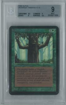 Magic the Gathering Alpha Ironroot Treefolk Single BGS 9 (8.5, 9, 9, 9.5)