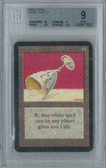 Magic the Gathering Alpha Ivory Cup Single BGS 9 (10, 9, 8.5, 9.5)