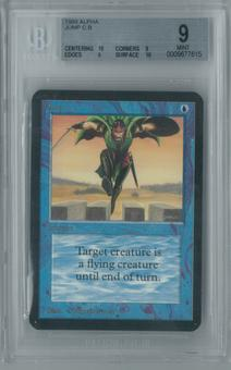 Magic the Gathering Alpha Jump Single BGS 9 (10, 9, 9, 10)