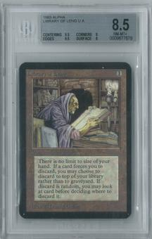 Magic the Gathering Alpha Library of Leng Single BGS 8.5 (9.5, 9, 9.5, 8)
