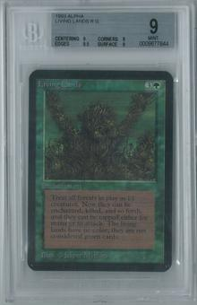 Magic the Gathering Alpha Living Lands Single BGS 9 (9, 9, 9.5, 9)