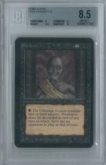 Magic the Gathering Alpha Pestilence Single BGS 8.5 (8, 9, 9.5, 9)