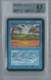 Magic the Gathering Alpha Phantasmal Terrain Single BGS 8.5 (8.5, 8.5, 9, 10)