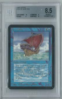 Magic the Gathering Alpha Pirate Ship Single BGS 8.5 (10, 9, 9, 8)