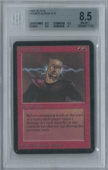 Magic the Gathering Alpha Power Surge Single BGS 8.5 (8.5, 8.5, 9.5, 9)