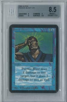 Magic the Gathering Alpha Psionic Blast Single BGS 8.5 (8, 9, 9, 8.5)