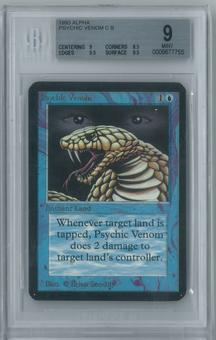 Magic the Gathering Alpha Psychic Venom Single BGS 9 (9, 8.5, 9.5, 9.5)