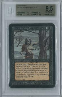 Magic the Gathering Alpha Scavenging Ghoul Single BGS 9.5 (9.5, 9, 9.5, 9.5)