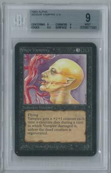 Magic the Gathering Alpha Sengir Vampire Single BGS 9 (9, 9, 9.5, 9)