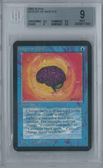 Magic the Gathering Alpha Sleight of Mind Single BGS 9 (9.5, 8.5, 9, 9.5)