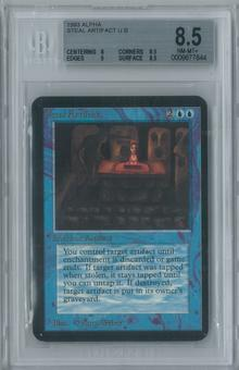 Magic the Gathering Alpha Steal Artifact Single BGS 8.5 (8, 8.5, 9, 8.5)