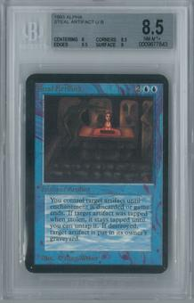 Magic the Gathering Alpha Steal Artifact Single BGS 8.5 (8, 8.5, 9.5, 9)