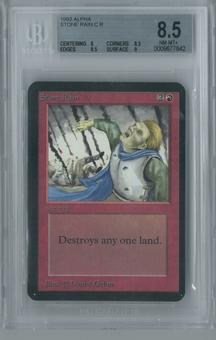 Magic the Gathering Alpha Stone Rain Single BGS 8.5 (8, 8.5, 9.5, 9)