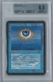Magic the Gathering Alpha Thoughtlace Single BGS 8.5 (9.5, 8.5, 9.5, 8)