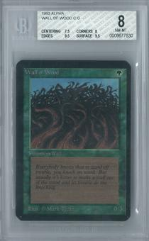 Magic the Gathering Alpha Wall of Wood Single BGS 8 (7.5, 8, 9.5, 9.5)