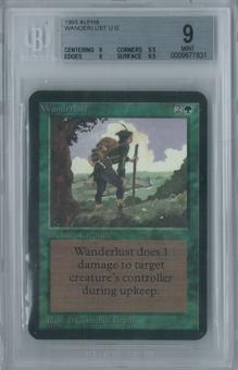 Magic the Gathering Alpha Wanderlust Single BGS 9 (9, 9.5, 9, 9.5)