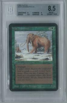 Magic the Gathering Alpha War Mammoth Single BGS 8.5 (8, 9, 9.5, 10)