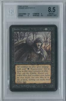 Magic the Gathering Alpha Zombie Master Single BGS 8.5 (8.5, 9, 9, 8.5)