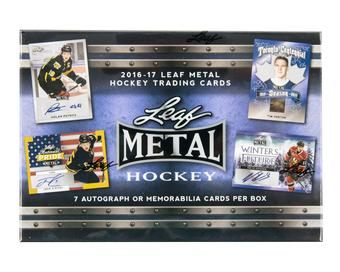 2016/17 Leaf Metal Hockey Hobby Box
