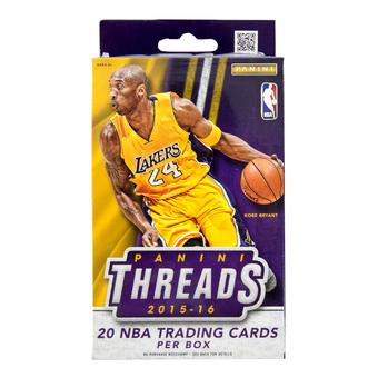 2015/16 Panini Threads Basketball Retail Hanger Pack