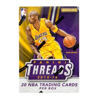 2015/16 Panini Threads Basketball Blaster Box