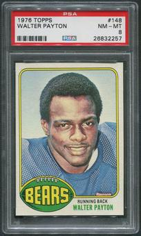 1976 Topps Football #148 Walter Payton Rookie PSA 8 (NM-MT)