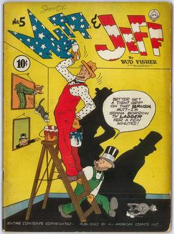 Mutt and Jeff #5  VG/FN