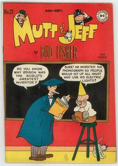Mutt and Jeff #23  VF-
