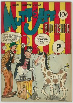 Mutt and Jeff #12  VG/FN