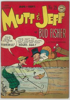 Mutt and Jeff #29  VF-