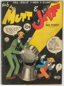 Mutt and Jeff #6 VG+