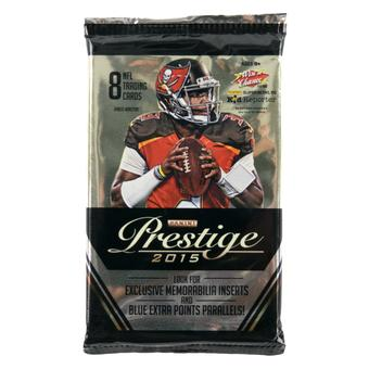 2015 Panini Prestige Football Blaster Pack