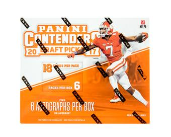 2017 Panini Contenders Draft Picks Football Hobby Box