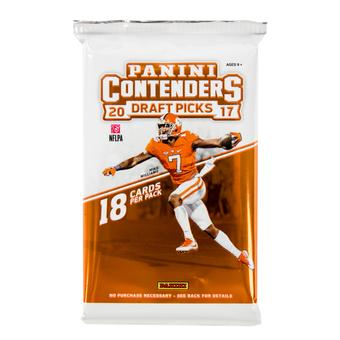 2017 Panini Contenders Draft Football Hobby Pack