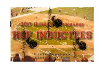 2017 Historic Autograph Hall of Fame Inductees Hobby Box