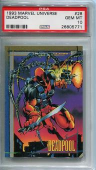 1993 Skybox Marvel Universe Deadpool #28 PSA 10 *26805771*