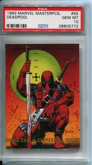 1993 Skybox Marvel Masterpieces Deadpool #55 PSA 10 *26805772*