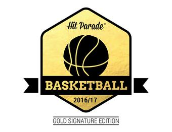 2016/17 Hit Parade Basketball Gold Signature Edition Box