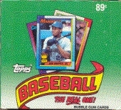 1990 Topps Baseball Cello Box