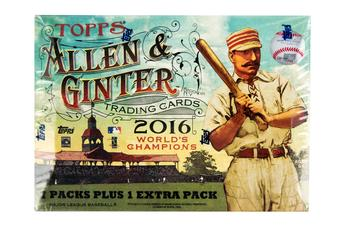 2016 Topps Allen & Ginter Baseball 8-Pack Box