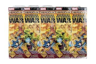 Marvel HeroClix: Avengers/Defenders War Booster Brick (10 Ct.)